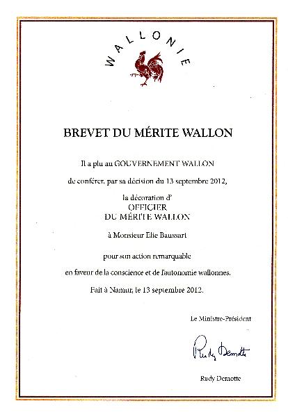 Brevet du Mérite wallon